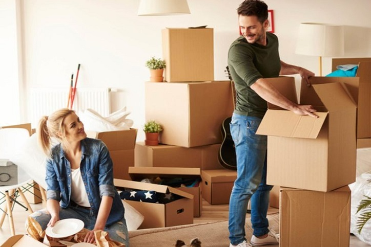 House Moving by boy and girl